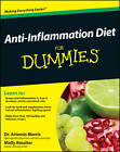 Anti-Inflammation Diet For Dummies by Molly Rossiter, Artemis Morris (Paperback, 2011)