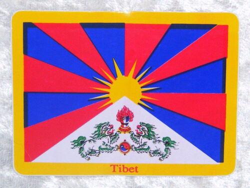 TIBET AUFKLEBER IN 2 GRÖßEN STICKER HIMALAYA BUDDHISMUS BUDDHA NEPAL LAMA