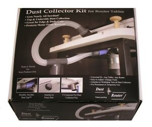 Router-Table-Dust-Collection-Collector-System-for-Fence-Insert-Plate-by-bits