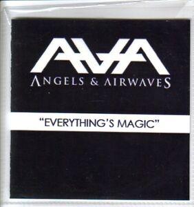 Angels-amp-Airwaves-Blink-182-Everything-039-s-Magic-Scarce-UK-Promo-CD