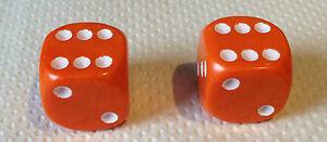 2-x-Orange-Dice-Dust-Valve-Caps