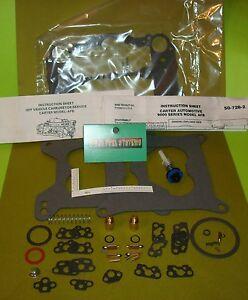 Carter afb competition carburetor rebuild kit modern fuels 9502 9503