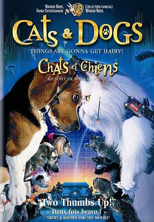 Cats and Dogs (DVD, 2009, Canadian)