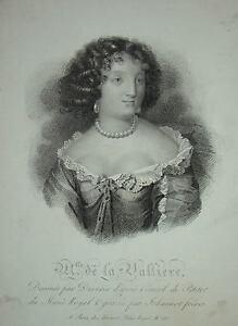 Portrait-MADAME-de-LA-VALLIERE-LOUIS-XIV-DEVERIA-1830
