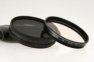 Filterset 55mm Heliopan Depol 2,5x /Cenei Skyl.R1,5 1x