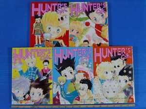 Hunter-X-Hunter-Hunter-039-s-Cafe-Complete-Set-Yaoi-manga
