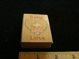Baby-Love-Heart-Wood-Mounted-Stamp-All-Night-Media-Susan-Branch-Designer