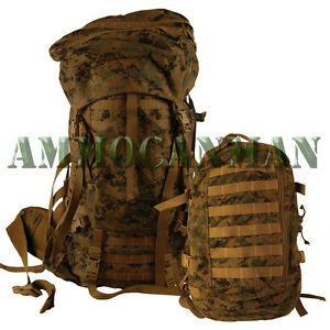BRAND-NEW-UNISSUED-GEN-2-MARPAT-COMPLETE-ILBE-ARCYTERYX-PACK-AND-ASSAULT-PACK
