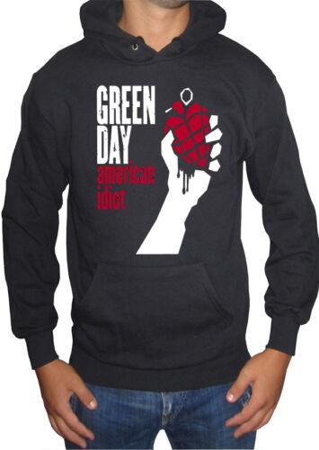 fm10 felpa cappuccio uomo GREEN DAY Billie Mike Cool MUSICA