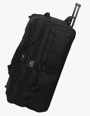 "Large 36"" Rolling Wheeled Duffel Bag 5796 Luggage FREE SHIPPING New Heavy Duty"
