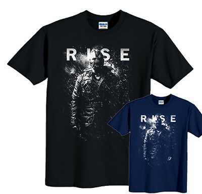 BaneT-shirt The Dark Knight Rises Movie New Bane Fire Rises Tee Sizes S-6XL