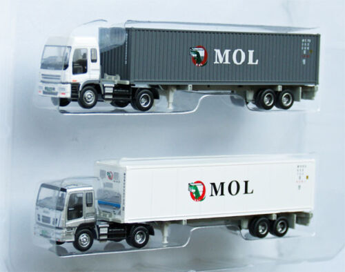 """Tomytec The Trailer Collection """"MOL"""" (Mitsui O.S.K. Lines) 1/150 N scale"""