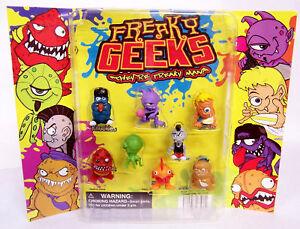 FREAKY-GEEKS-1-Toys-8-Figurines-NEW-HOT-Display-Set