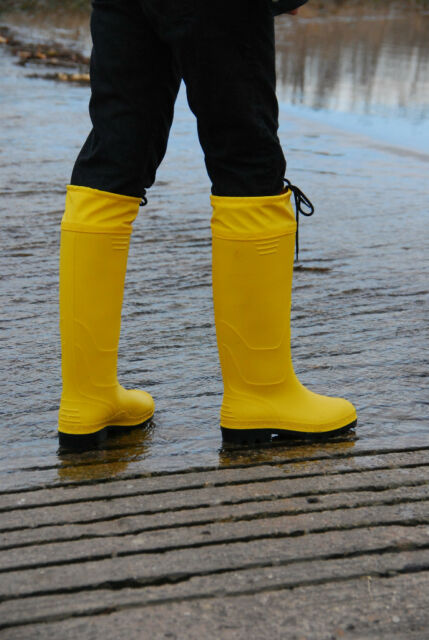 nice Rubberboots Rainboots Wellis for ladys and gents - with cuffs