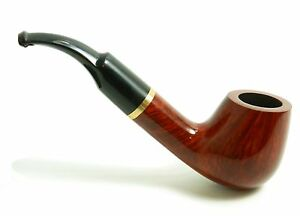 Briar-Wood-Tobacco-Pipe-Full-Bent-No-67-Hand-Made-by-Mr-Brog-In-POLAND