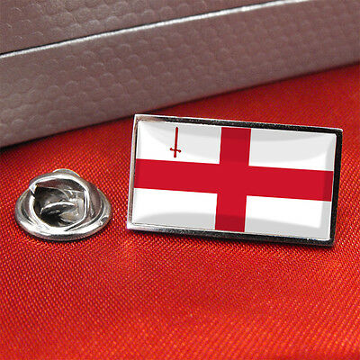 City Of London Flag Lapel Pin Badge/Tie Pin