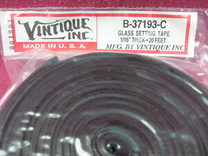 Glass-Setting-Tape-1-16-Inch-Thick-amp-20-Foot-Roll-Rubber-Tape-Insulator