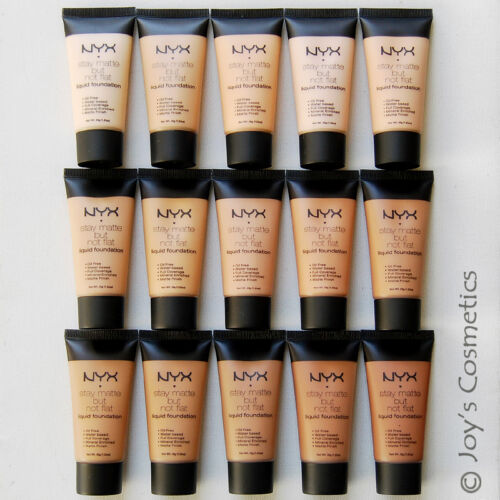 """3 NYX Stay Matte But Not Flat Liquid Foundation """"Pick Your 3 color!!""""   *Joy's*"""