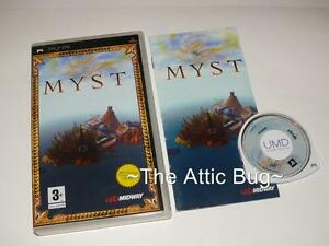 Sony-PSP-Myst-Complete