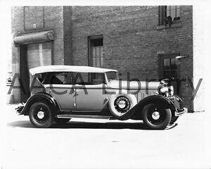1932-Lincoln-KA-Touring-Car-Factory-Photo-Picture-Ref-53197