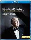 Menahem Pressler In Recital (Blu-ray, 2012)