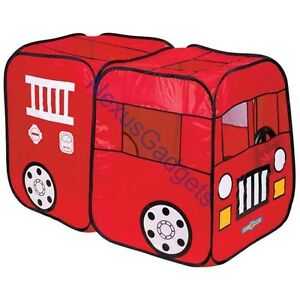 Fire Truck Engine Play Tent Red Playtent House Indoor