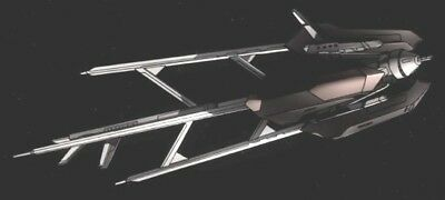 Trinity Mothership Gundam 00 Carrier Mahogany Kiln Dry Wood Model Large New