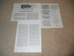 Tandberg TR-2075 MK II Receiver Review, 1978, 3 page