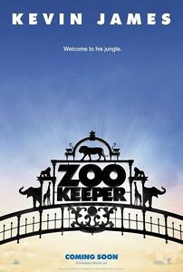 ZOOKEEPER-27x40-D-S-Original-Movie-Poster-One-Sheet-KEVIN-JAMES