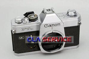 CLA (Clean, Lubricate, Adjust) Service for Canon FTb QL