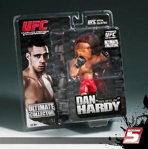 DAN HARDY UFC ROUND 5 ULTIMATE COLLECTORS SERIES 6 FIGURE REGULAR EDITION - MINT
