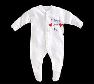 BabyGrow-Boy-Girl-Unisex-I-Love-My-Pa