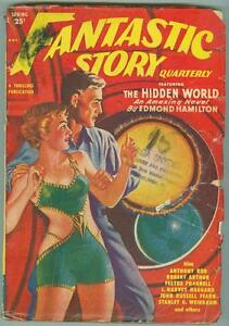 Fantastic-Story-Quarterly-Spring-1950-G-VG-Space-Babe-cover-1st-issue