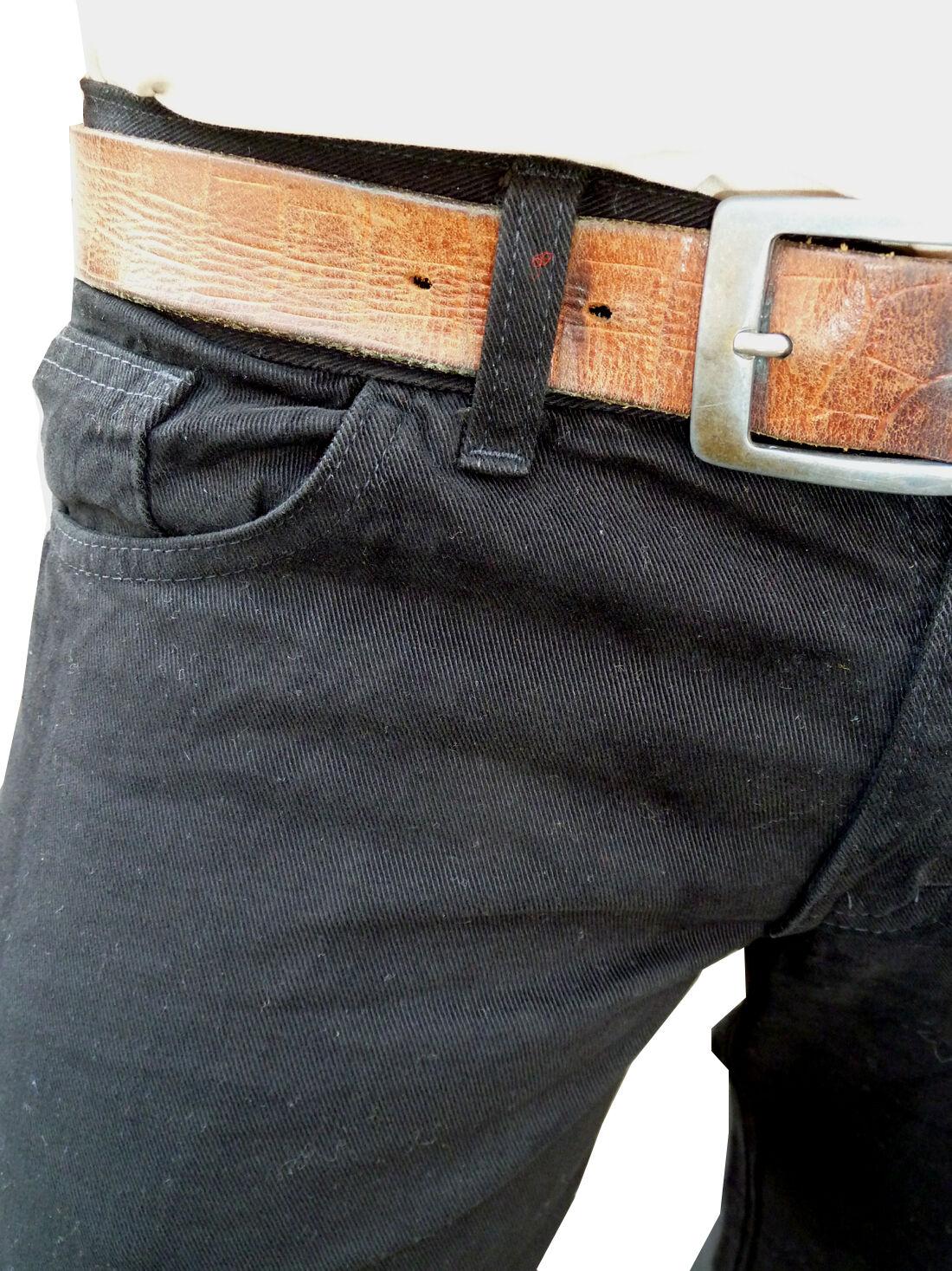 Nuovo da Uomo a Campana Flares Jeans Svasato Vintage Anni Anni Anni '60 70 Indie Pantaloni 86a7a2