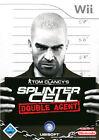 Tom Clancy's Splinter Cell: Double Agent (Nintendo Wii, 2006, DVD-Box)