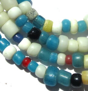 24-1-2-STRAND-OF-RARE-ANCIENT-SMALL-MIXED-COLUMBIA-RIVER-TRADE-BEADS