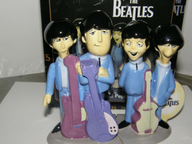 The Beatles   Animated salt & pepper Collector set!!!,  New with Box  2004