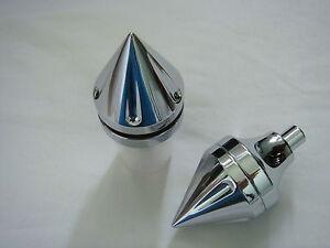 CHROME-NO-CUT-Hayabusa-spike-ball-cut-frame-sliders-saver-FITS-ALL-YEARS