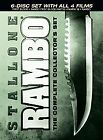 Rambo: The Complete Collectors Set (DVD, 2008, 6-Disc Set, Canadian)