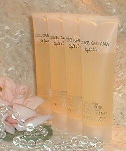 2-LIGHT-BLUE-DOLCE-GABBANA-WOMEN-Perfume-d-SHOWER-GEL