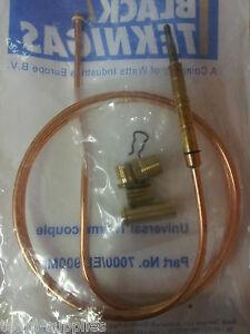 Black-Teknigas-7000-EL-900-Standard-Universal-Gas-Thermocouple-900mm-36