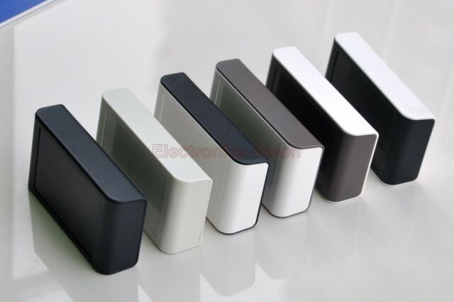 Desktop Instrumentation Project Enclosure Box Case, ABS.