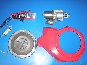 honda gx160 electric start kit instructions