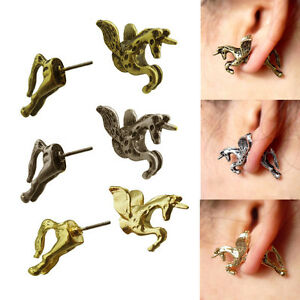 Hot-New-Sell-3-styles-unicorn-earring-stud-pretty-for-girls-ADX-cool