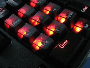 104-KBC-half-Clear-key-caps-for-any-Cherry-MX-Switches-Keyboard-Filco-Noppoo