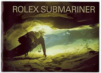 Booklet ROLEX SUBMARINER 2003 ENGLISH for 14060 16610 16613 16618 16803 16808