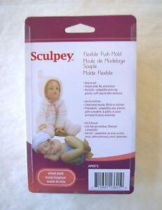 Push-Molds-Clay-Sculpey-Fimo-INFANT-Doll-Head-Body-Legs