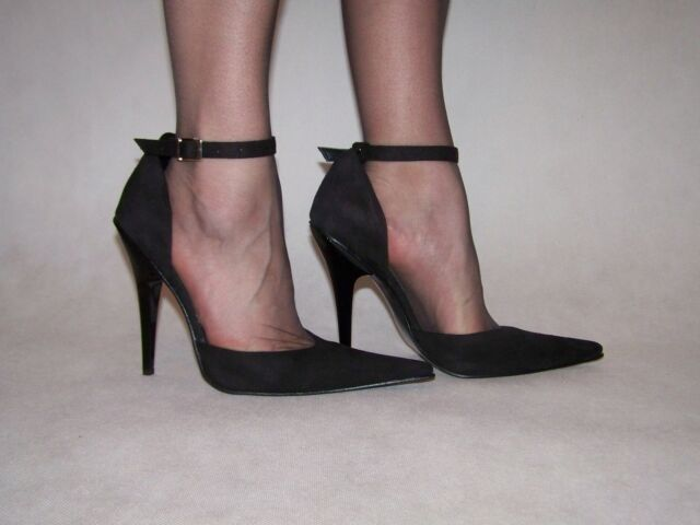 Pumps Kunstwildleder High heels 36 37 38 39 40 41 42 43 44 45 46 47 FS491