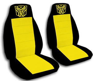Bumble Bee Car Seat Covers