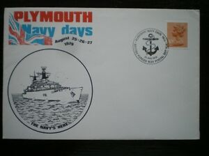 MARRIOTT NAVAL COVER  PLYMOUTH NAVY DAYS AUG 2527 1979 - Tadley, United Kingdom - Full Refund less postage if not 100% satified Most purchases from business sellers are protected by the Consumer Contract Regulations 2013 which give you the right to cancel the purchase within 14 days after the day you receive th - Tadley, United Kingdom